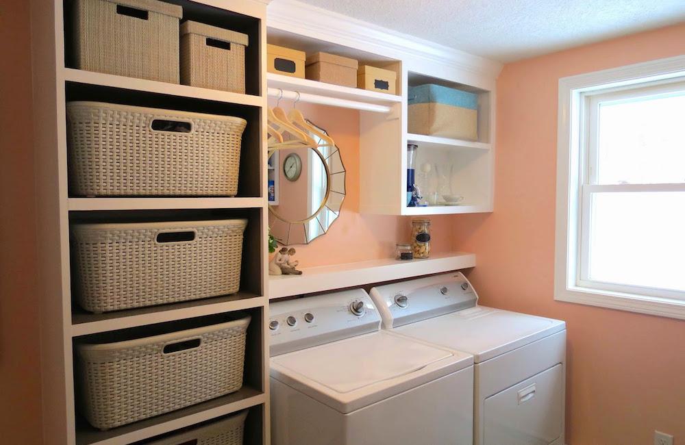 & Laundry Room Storage Ideas